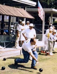 Lawn Bowling Homby Park